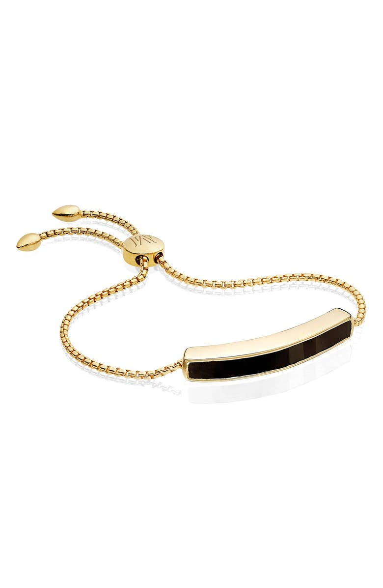 MONICA VINADER Engravable Baja Stone Bracelet, Main, color, 001