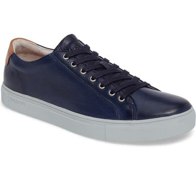 Blackstone Nm01 7 Eyelet Sneaker, Blue