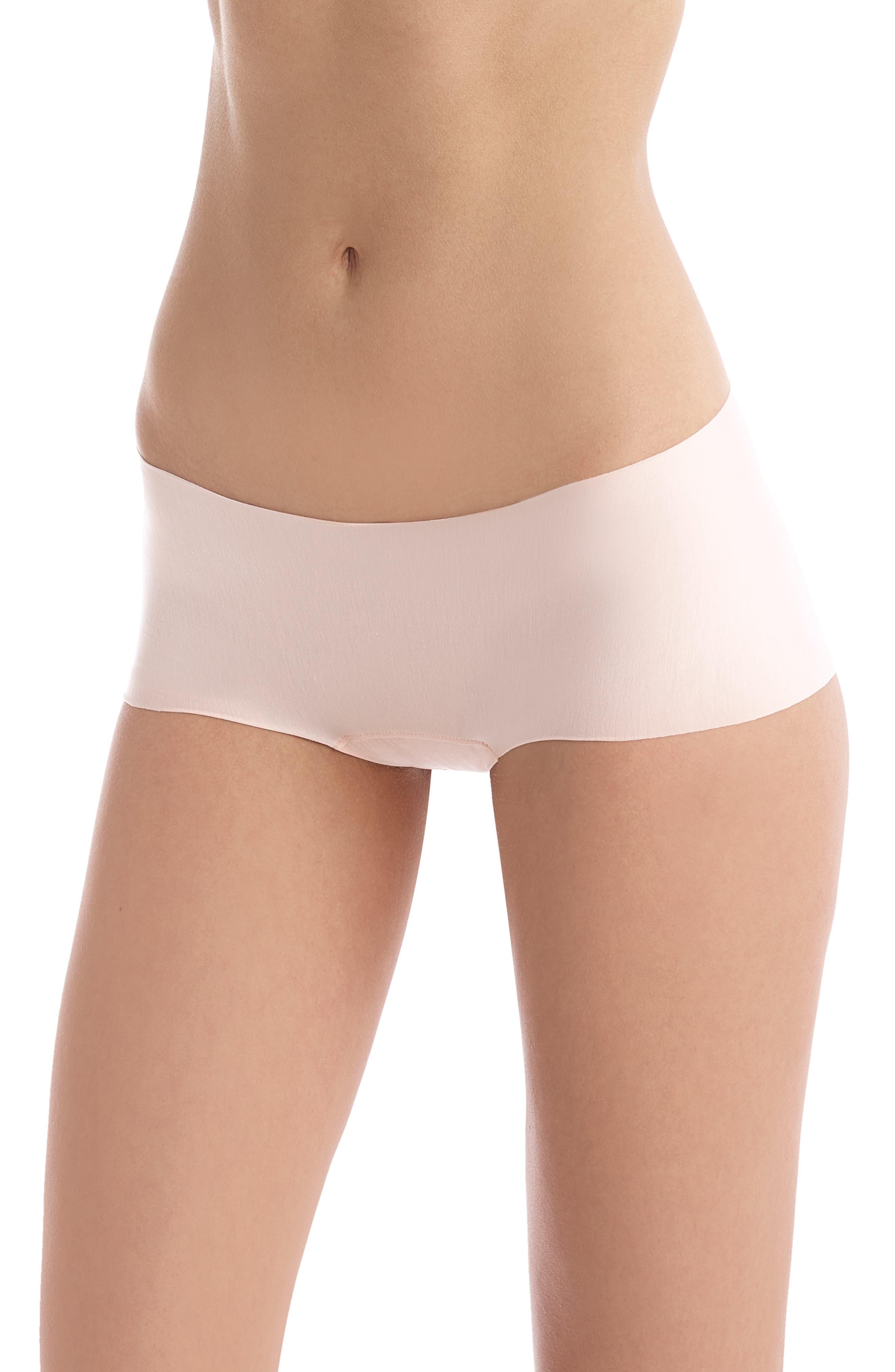 Women's Commando Butter Seamless Hipster Panties,  Small - Pink
