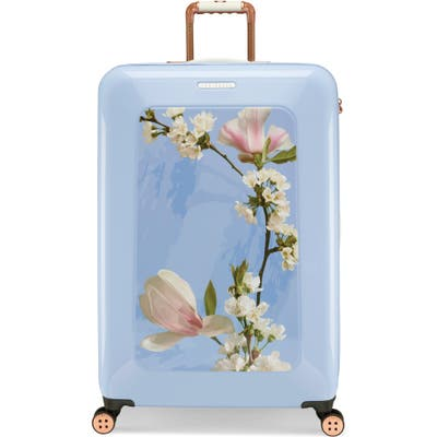 Ted Baker London Large Harmony 31-Inch Hard Shell Spinner Suitcase - Blue