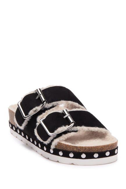 Image of Steve Madden Stessi Lined Slip-On Sandal