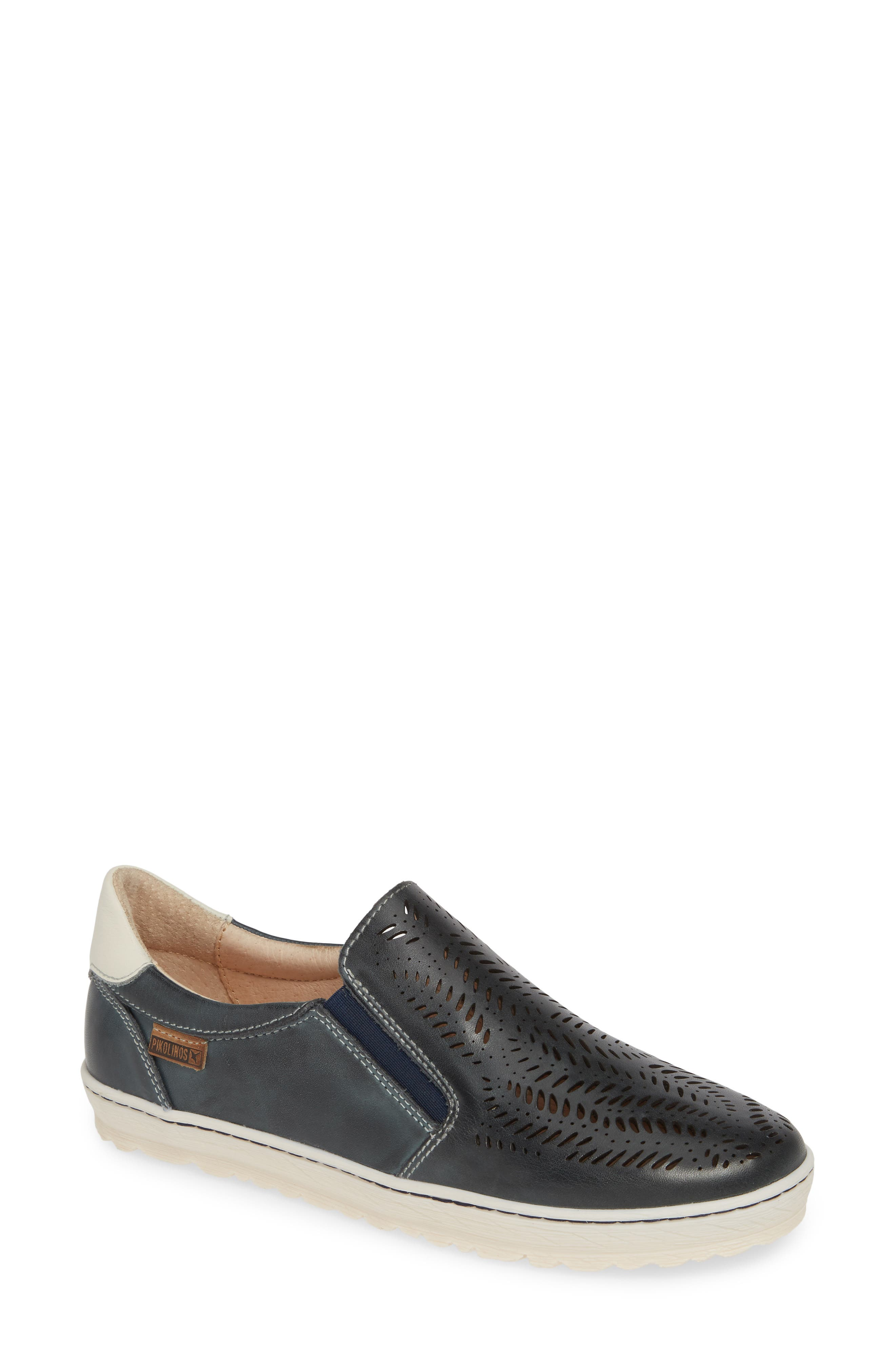 Pikolinos Lagos Perforated Slip-On Sneaker, Blue