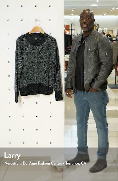 Shine On Metallic Marled Sweater, sales video thumbnail