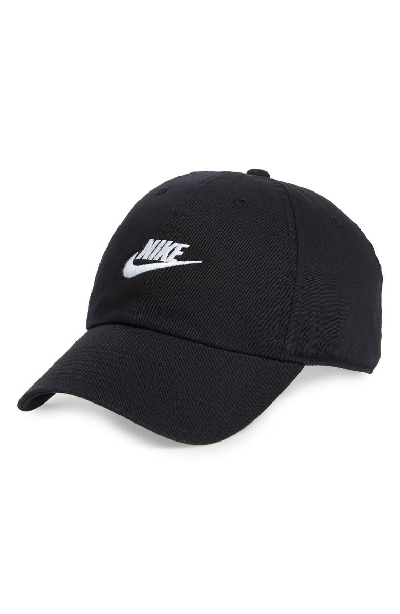 NIKE Futura Washed Cap, Main, color, 010