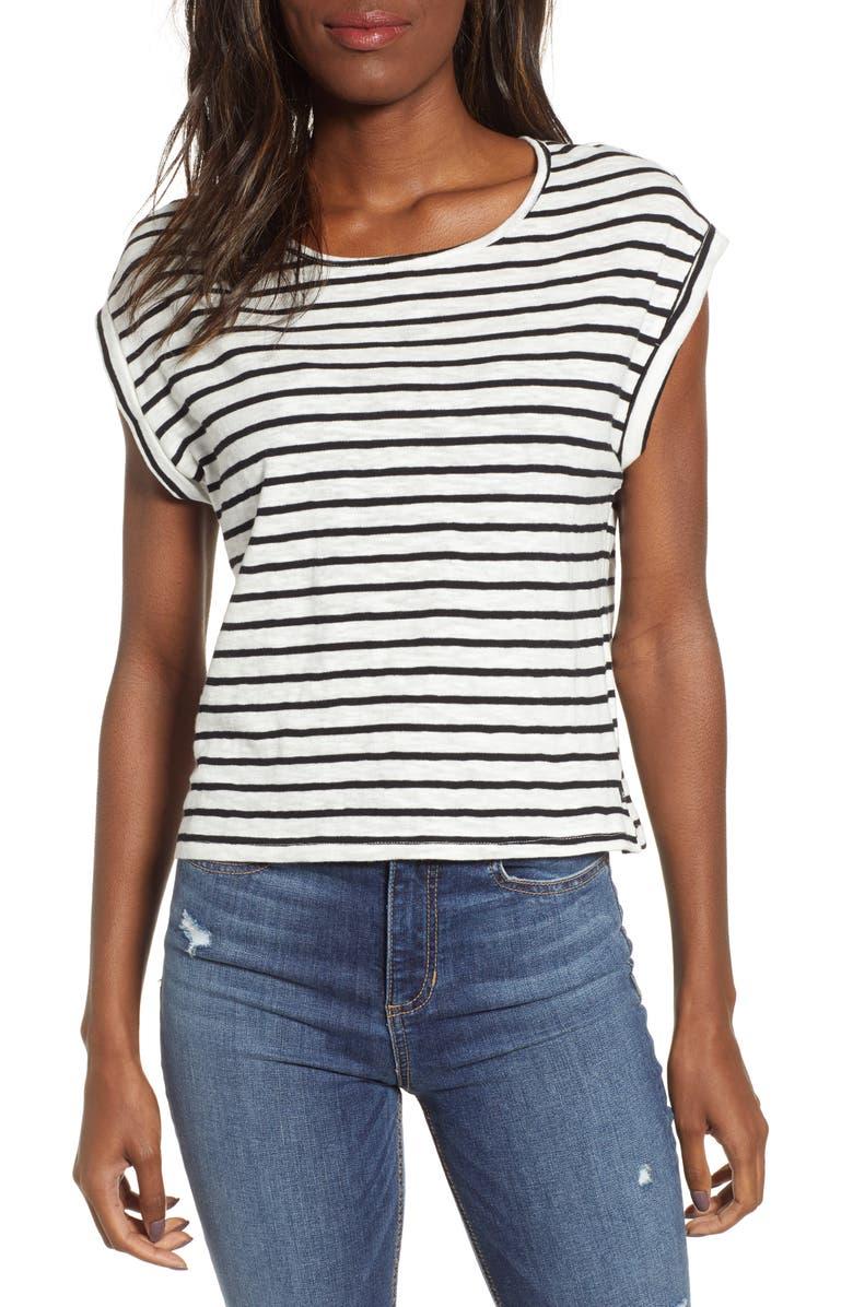 LIRA CLOTHING Mojave Stripe Top, Main, color, 001