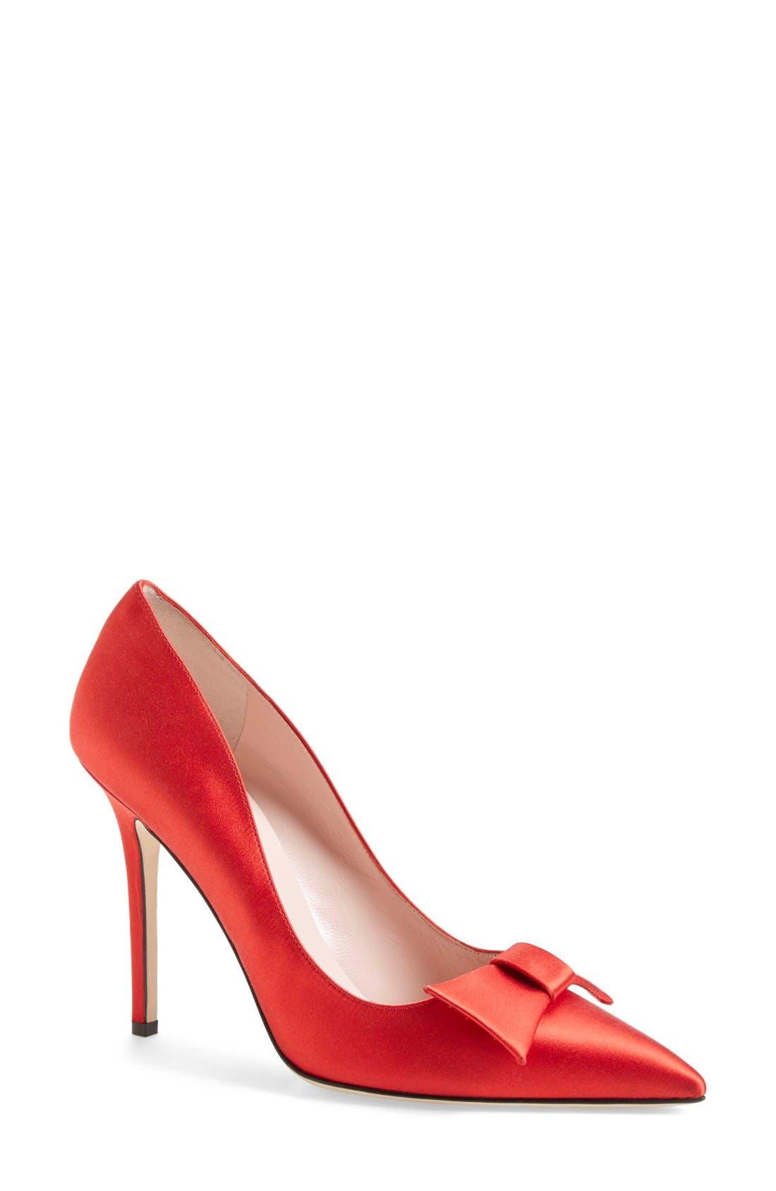 ,                             'layla' pointy toe pump,                             Main thumbnail 5, color,                             610