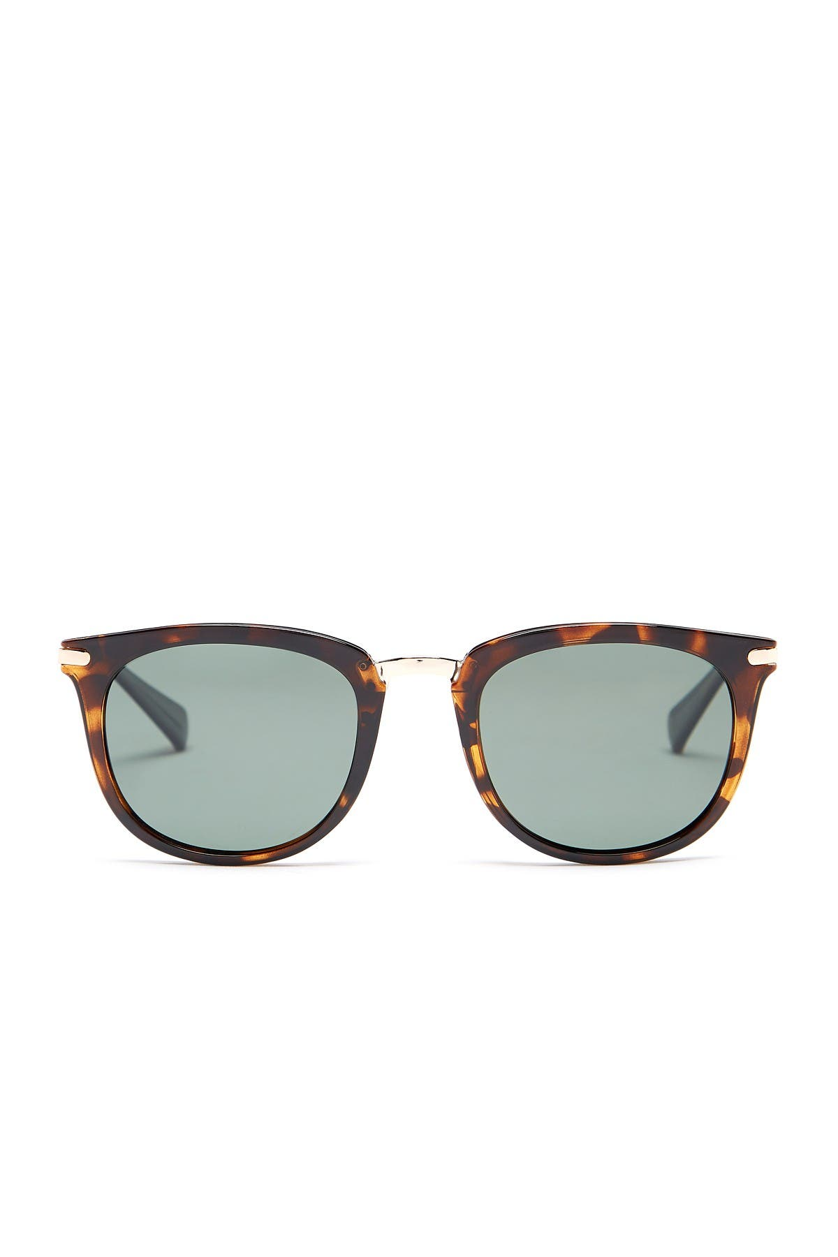 Image of Cole Haan Polarized 52mm Square Sunglasses