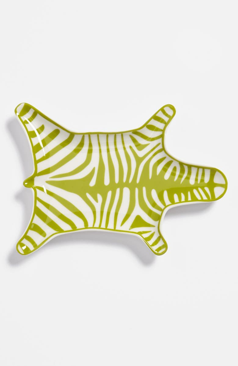 JONATHAN ADLER 'Zebra' Porcelain Stacking Dish, Main, color, 300