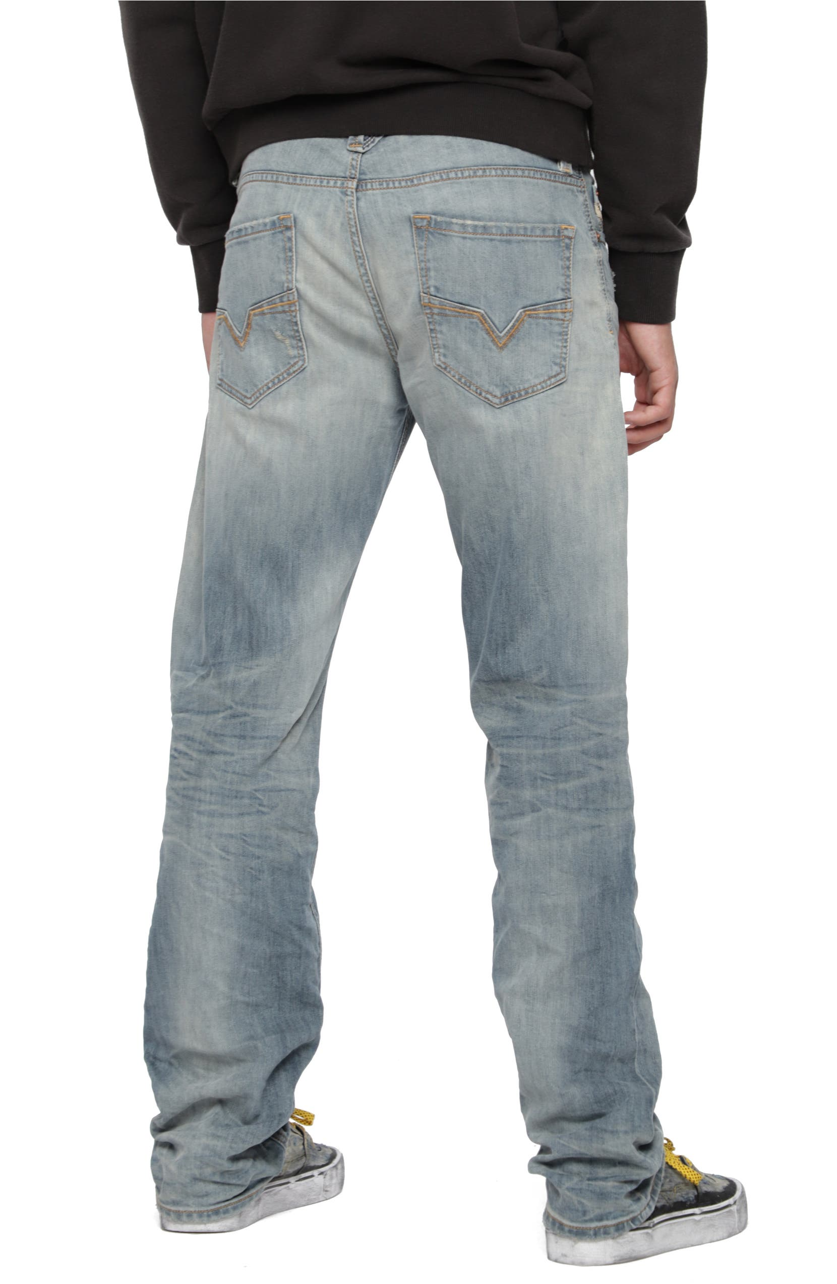 336ca7e6 DIESEL® Larkee Relaxed Fit Jeans (084UK)   Nordstrom