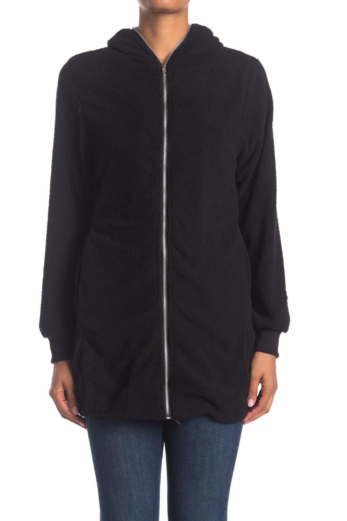 Forgotten Grace Contrast Zip Front Hood Jacket
