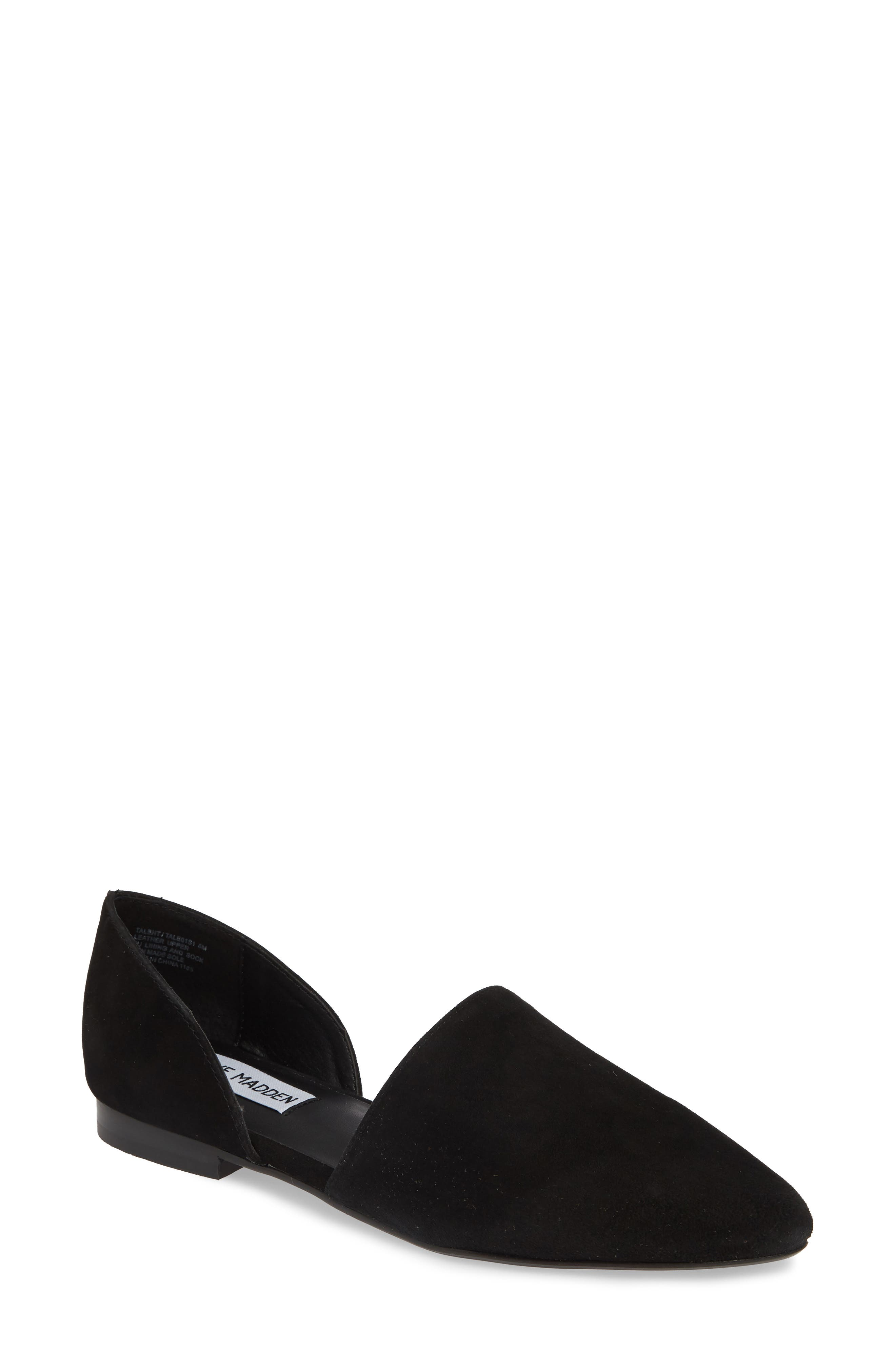 ,                             Talent Loafer,                             Main thumbnail 1, color,                             BLACK SUEDE