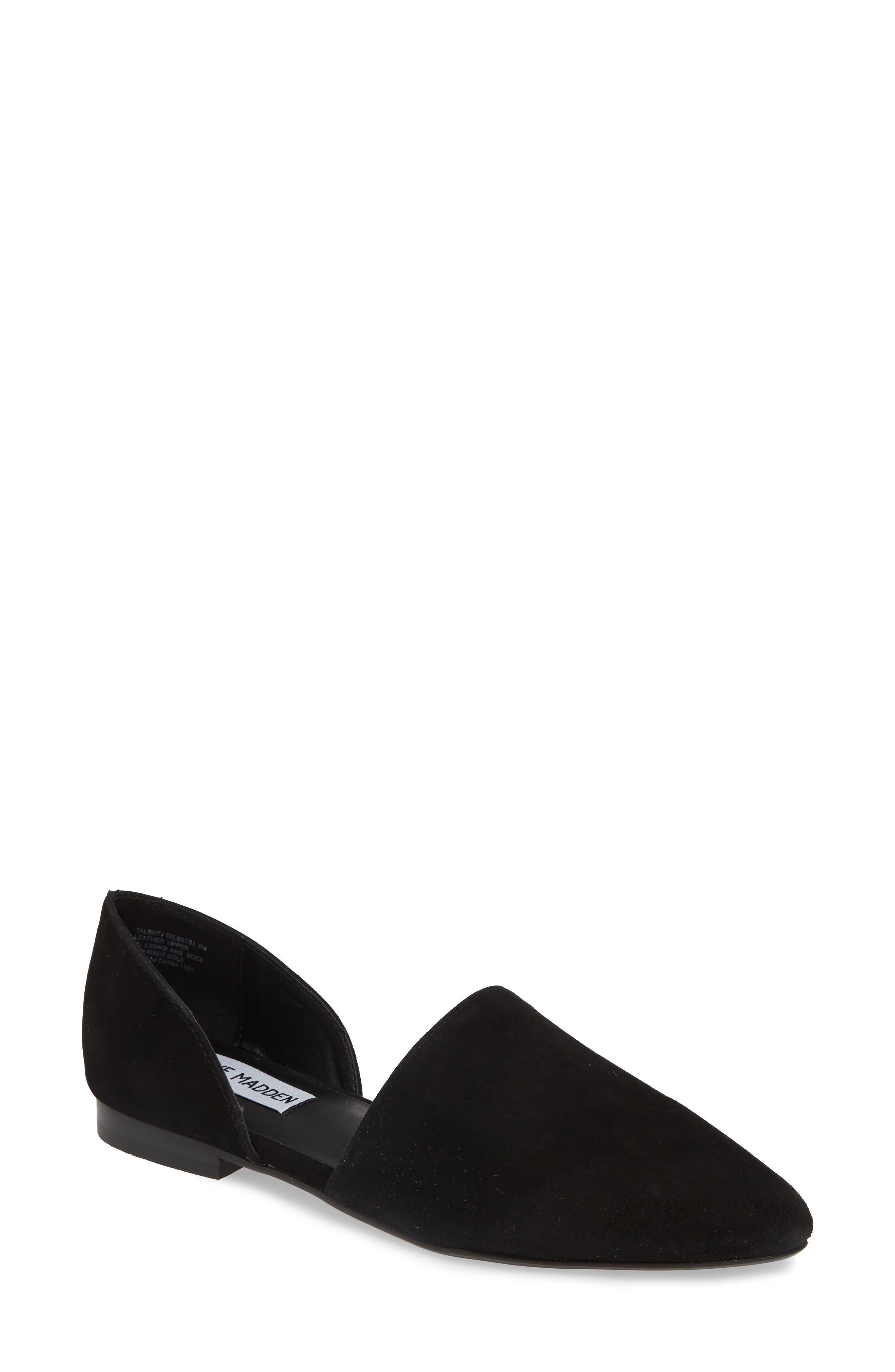 Talent Loafer, Main, color, BLACK SUEDE