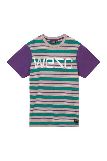 Image of WeSC Max Stripe T-Shirt
