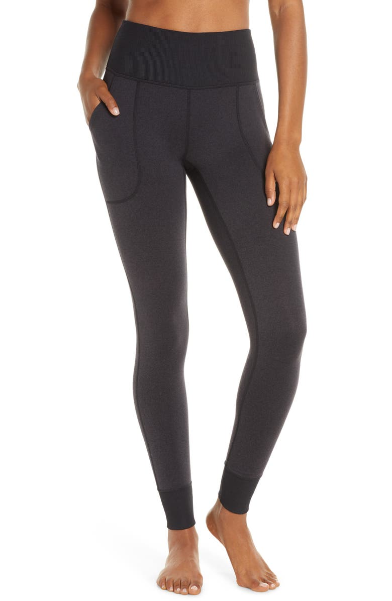 Zellness Cozy High Waist Leggings by Zella