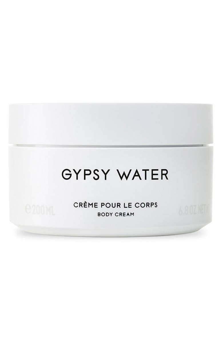BYREDO Gypsy Water Body Cream, Main, color, NO COLOR