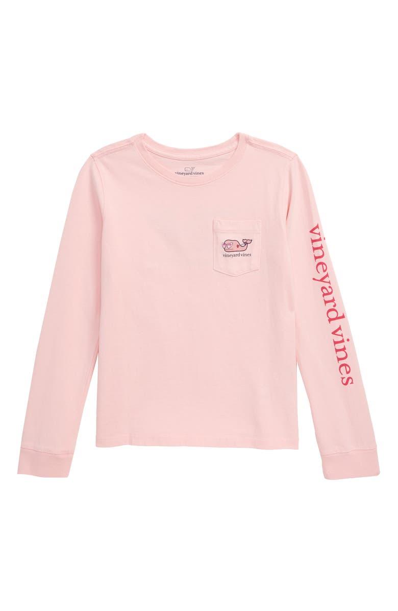 VINEYARD VINES Lovestruck Whale Pocket T-Shirt, Main, color, 650