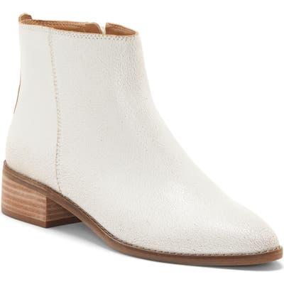 Lucky Brand Lenree Almond Toe Bootie, White
