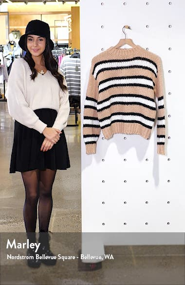 Striped Cozy Sweater, sales video thumbnail