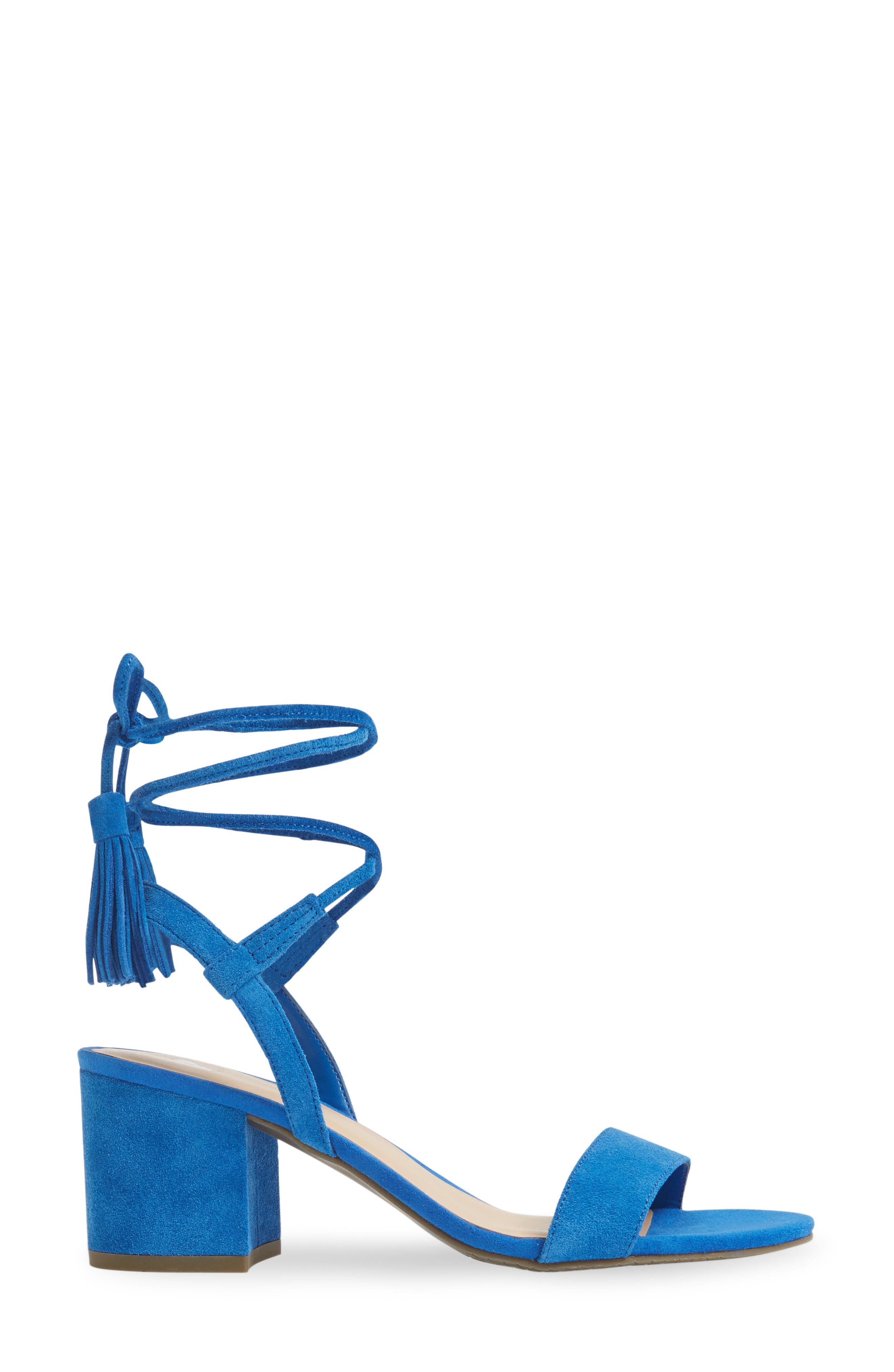 ,                             Karla Block Heel Ankle Wrap Sandal,                             Alternate thumbnail 8, color,                             402