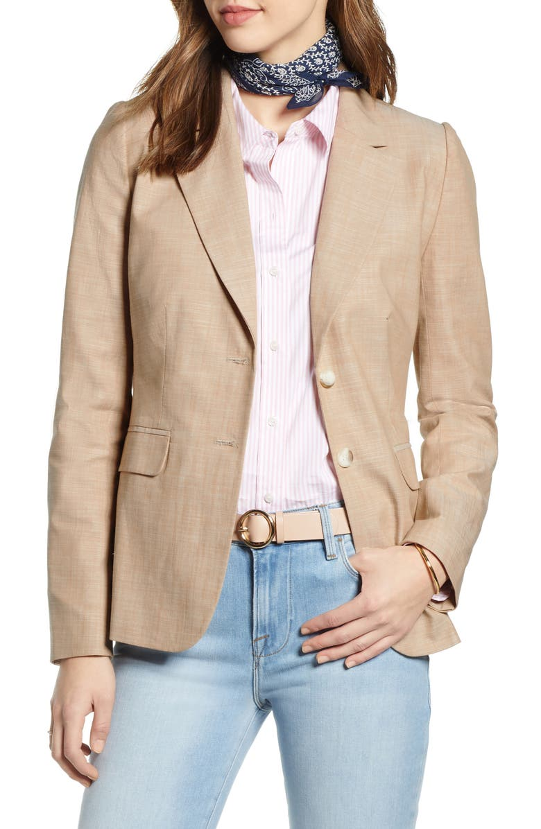 1901 Cross Dye Cotton Blazer, Main, color, 235