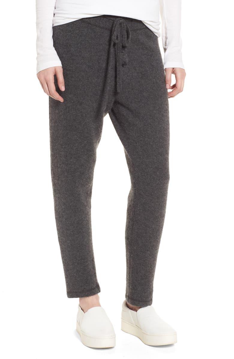 JAMES PERSE Brushed Cashmere Sweatpants, Main, color, 069