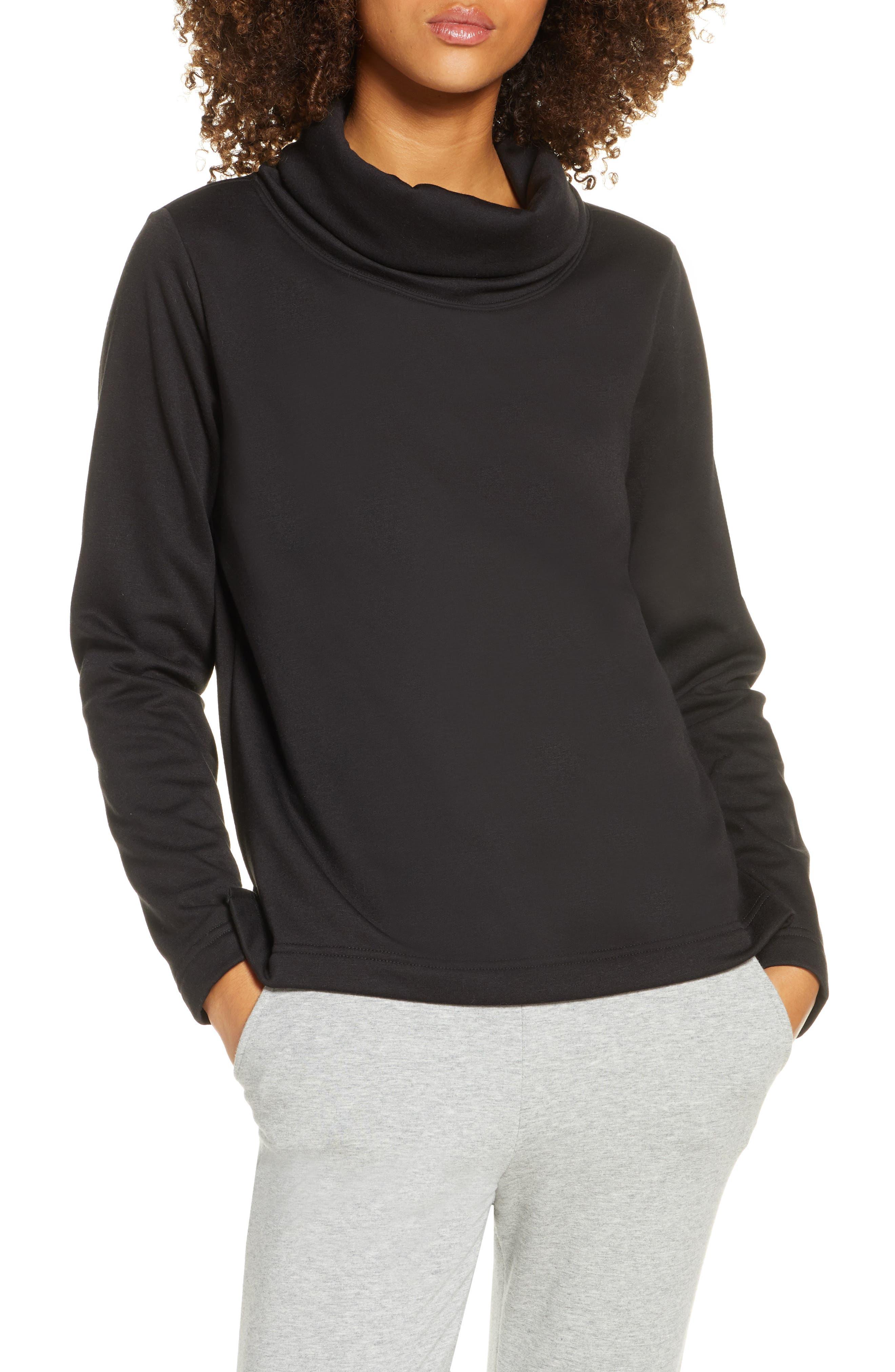 Zella Funnel Neck Pullover