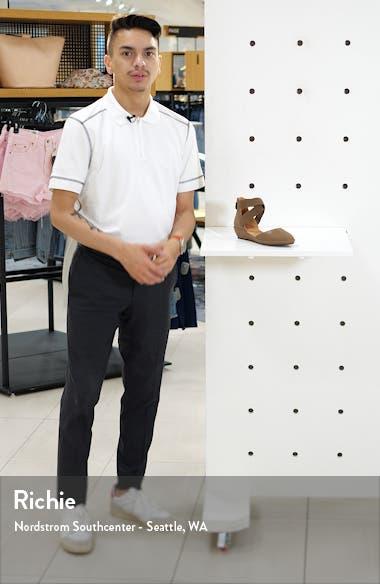 'Noa' Elastic Strap d'Orsay Sandal, sales video thumbnail