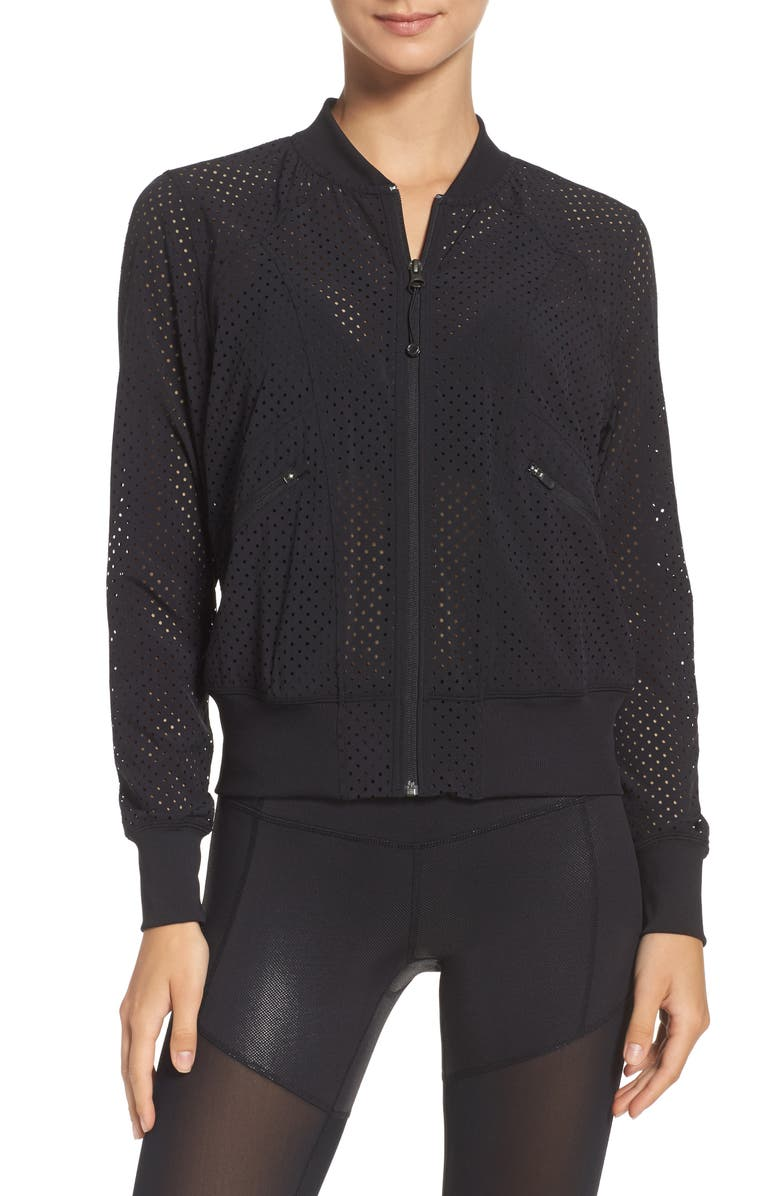 ZELLA Max Bomber Jacket, Main, color, 001