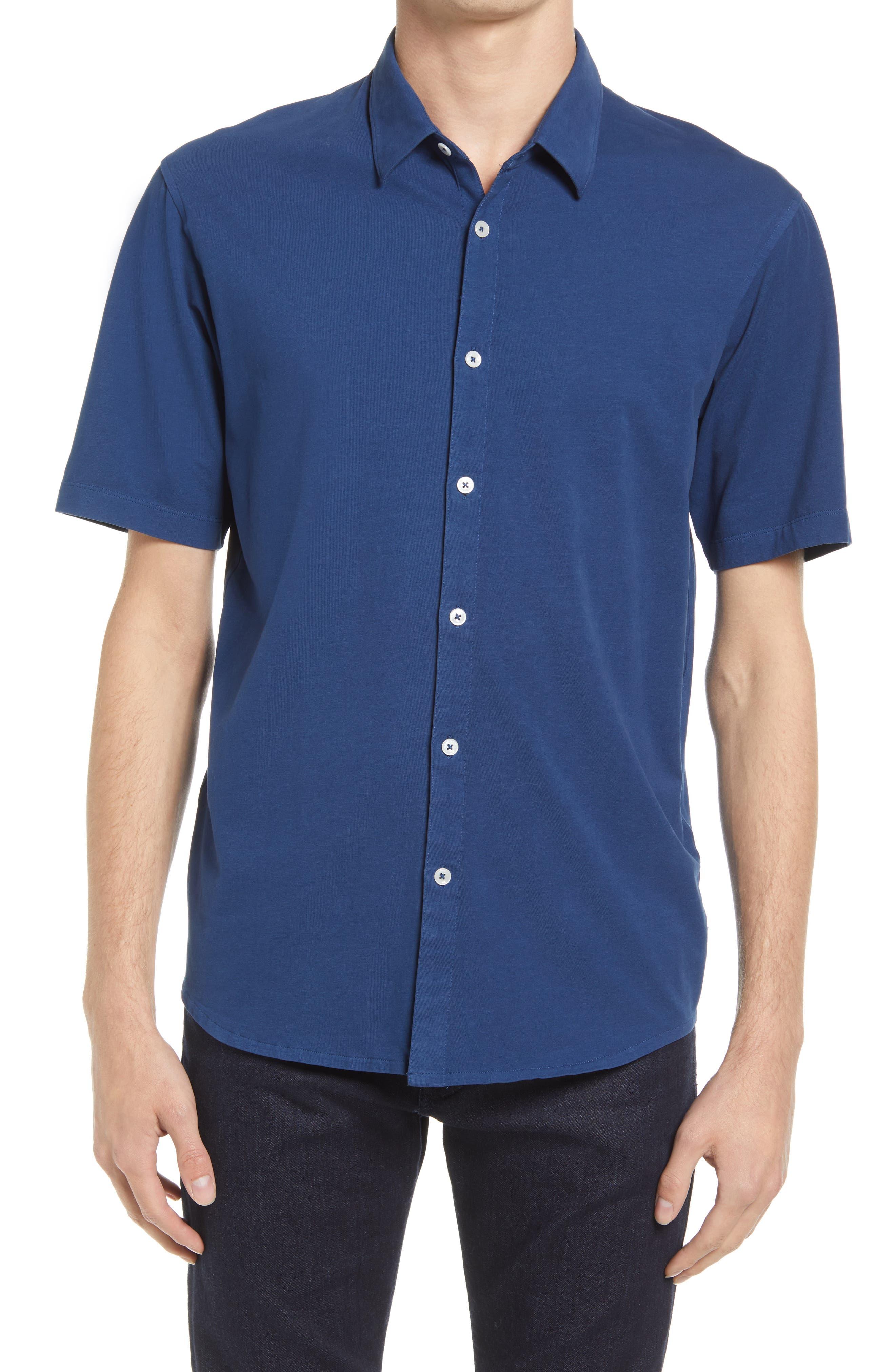 On Point Flex Pro Lite Slim Fit Button-Up Shirt