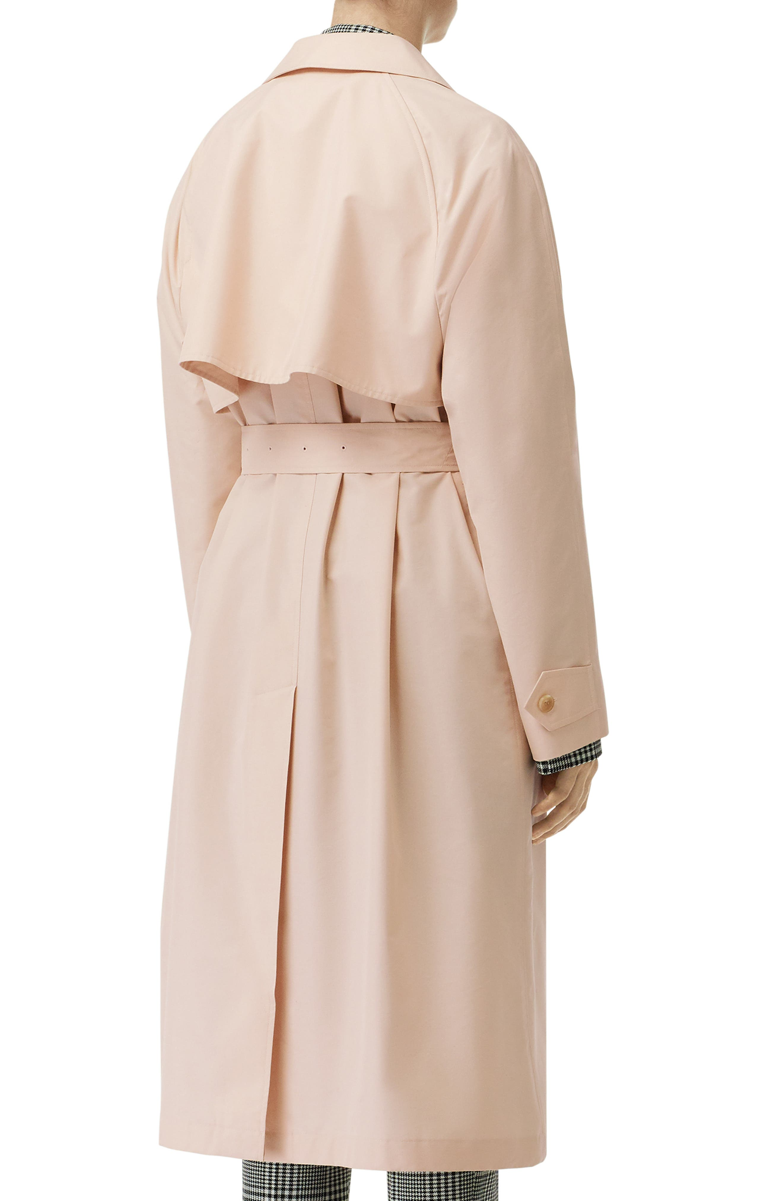 ,                             Edenderry Trench Coat,                             Alternate thumbnail 2, color,                             CHALK PINK CHECK