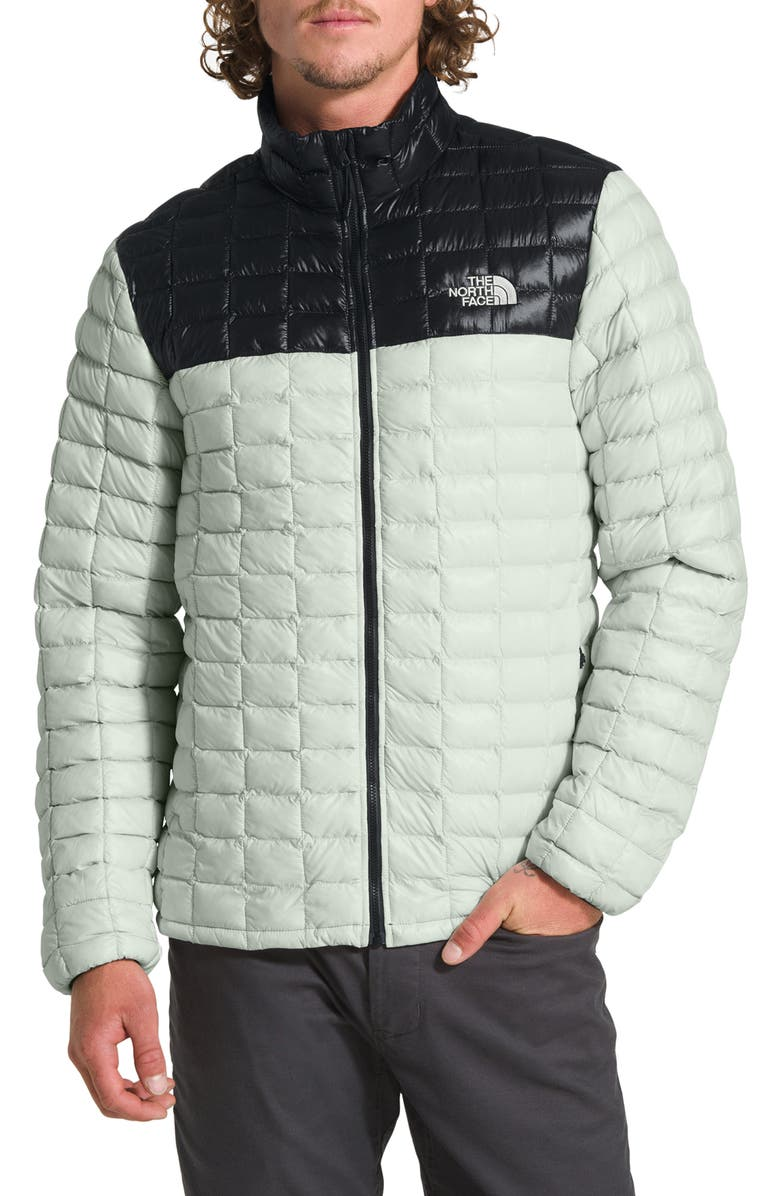 THE NORTH FACE ThermoBall<sup>™</sup> Eco Packable Jacket, Main, color, TIN GREY/ TNF BLACK