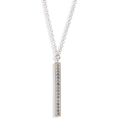 Anna Beck Long Vertical Bar Charity Pendant Necklace