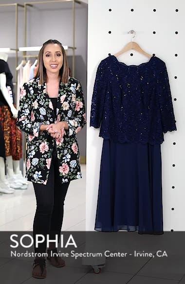Mock Two-Piece Midi Dress, sales video thumbnail