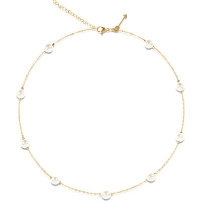 Ellie Vail Yvette Imitation Pearl Necklace
