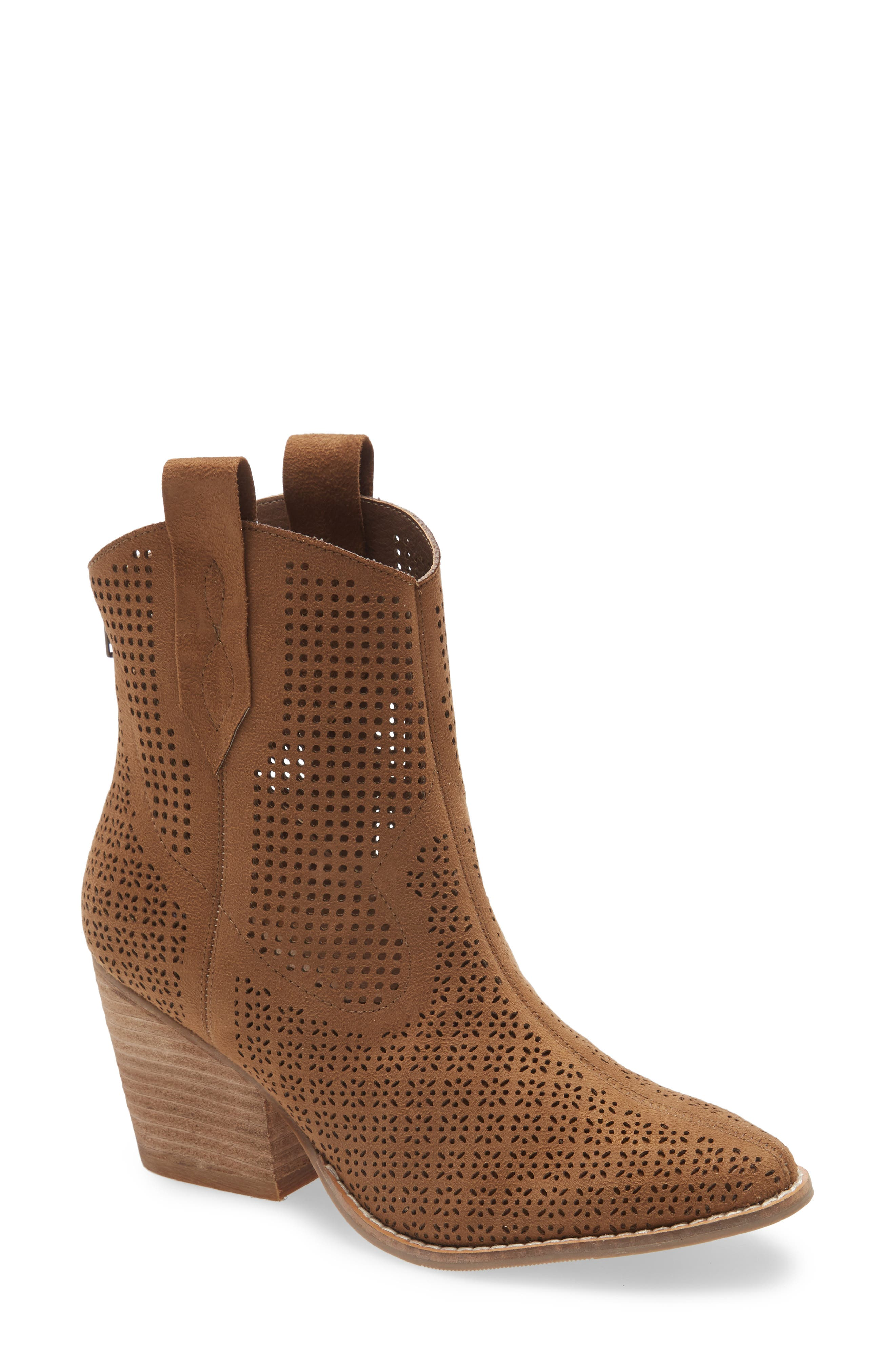 This boot is like a breath of fresh country air with its mixed perforations updating is classic Western look. Style Name: Coconuts By Matisse Backroad Boot (Women). Style Number: 5987478. Available in stores.