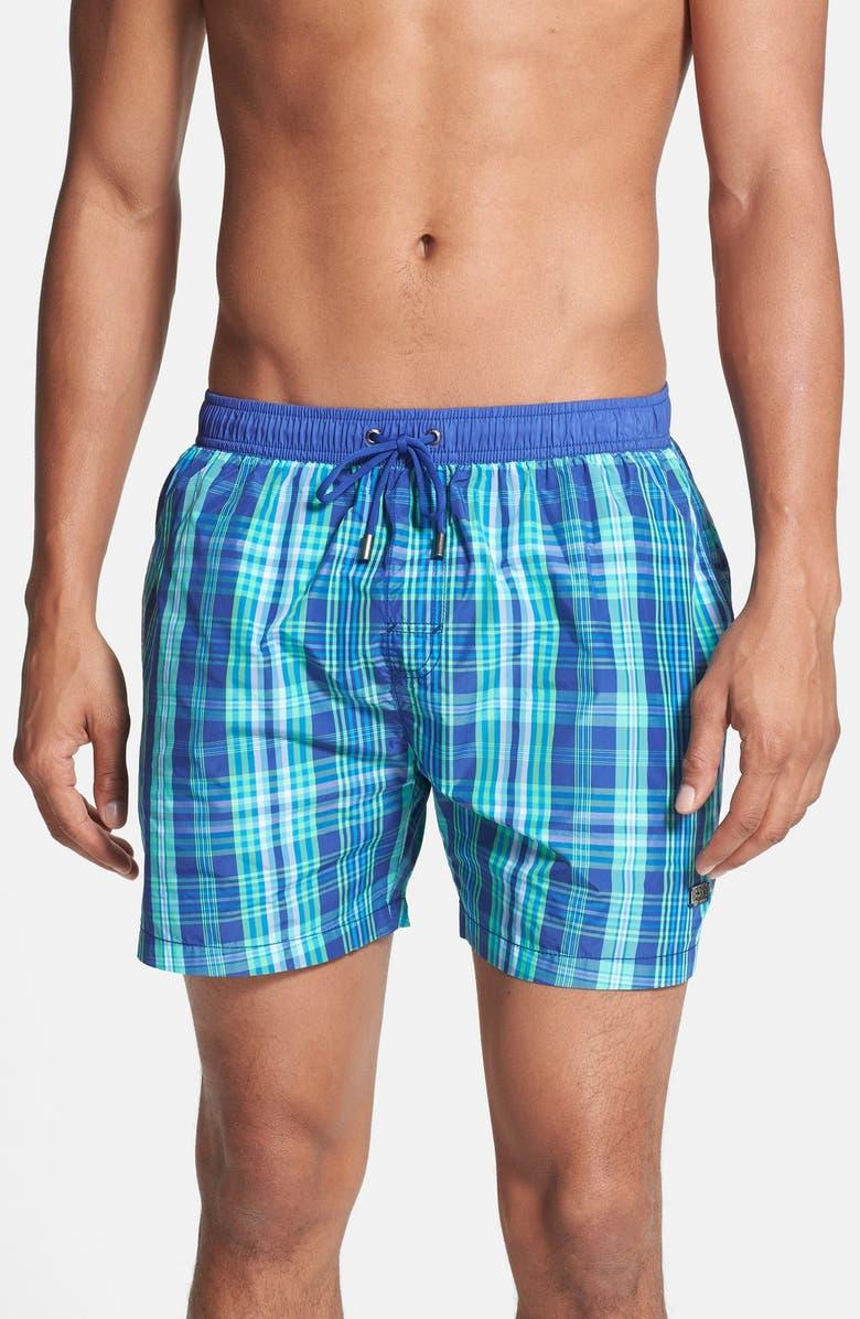 a2e597e1d6 Fred Perry Sport Shirt & BOSS HUGO BOSS Swim Trunks, Main, color, ...