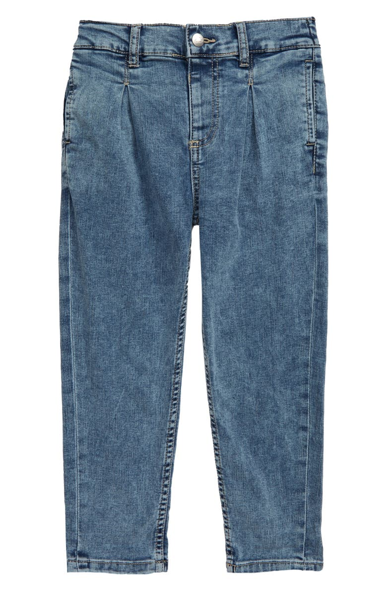 STEM Pleated Jeans, Main, color, FROSTY WASH