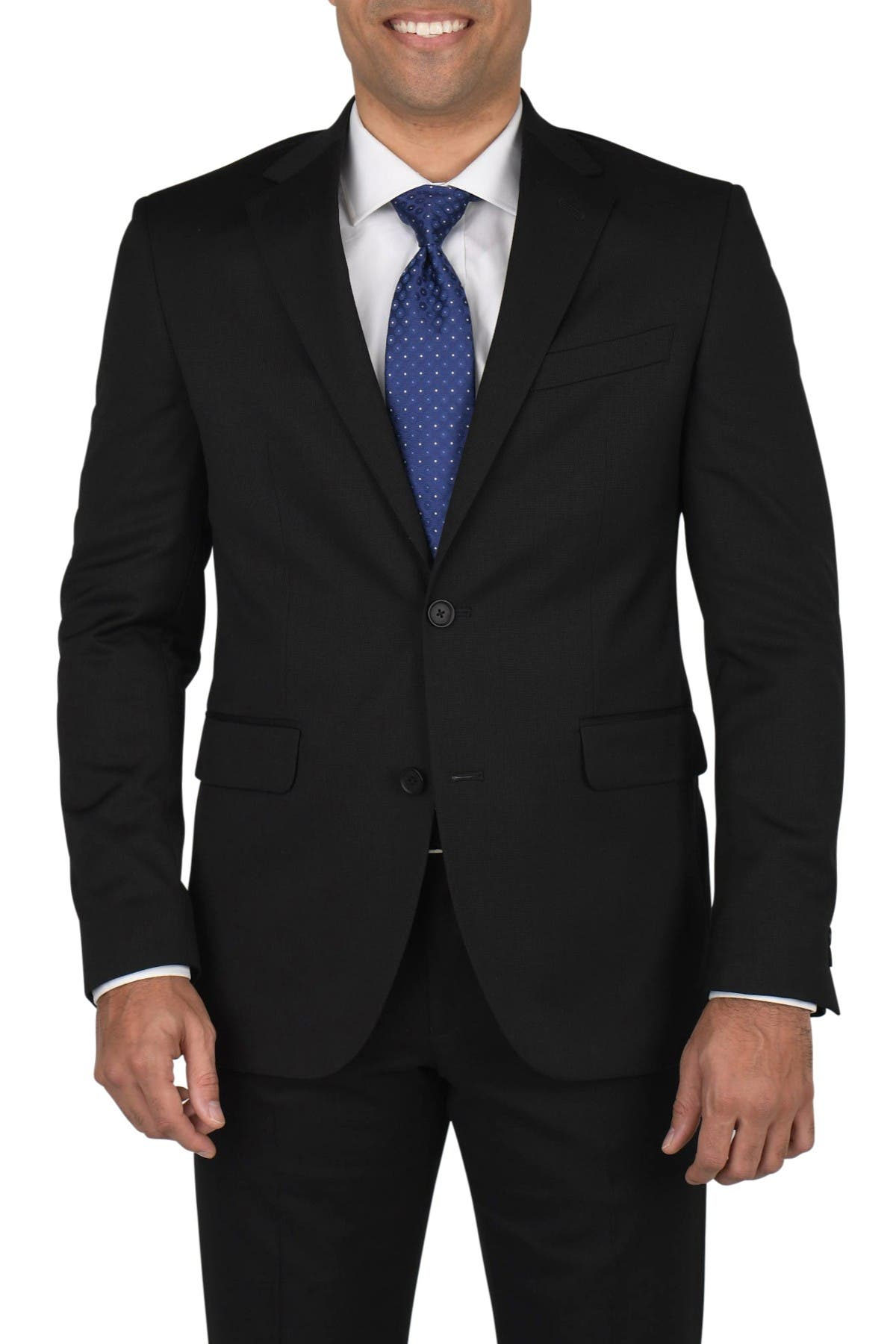 Image of Dockers Two Button Notch Lapel Stretch Fabric Modern Fit Suit Separates Jacket