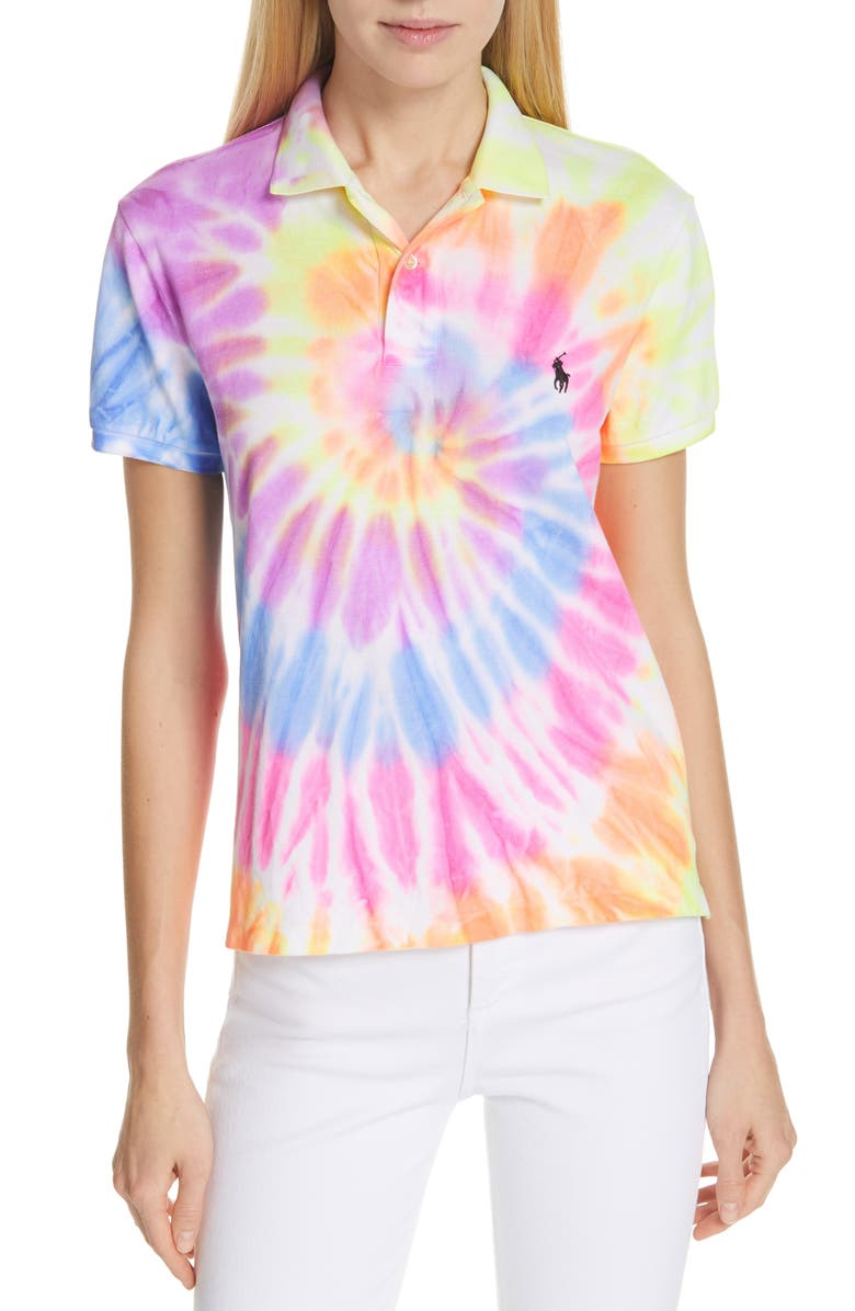 Factory Outlets sehr schön Neuankömmlinge Tie Dye Classic Fit Polo