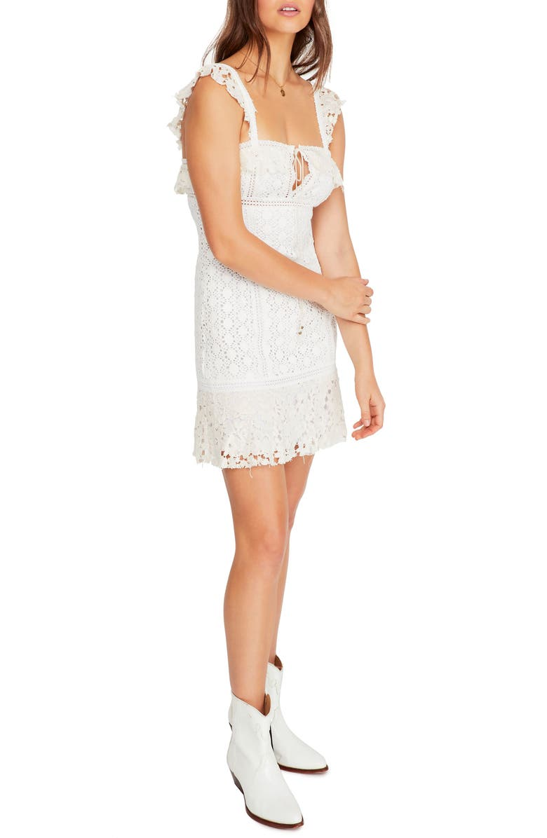FREE PEOPLE Cross My Heart Minidress, Main, color, 103