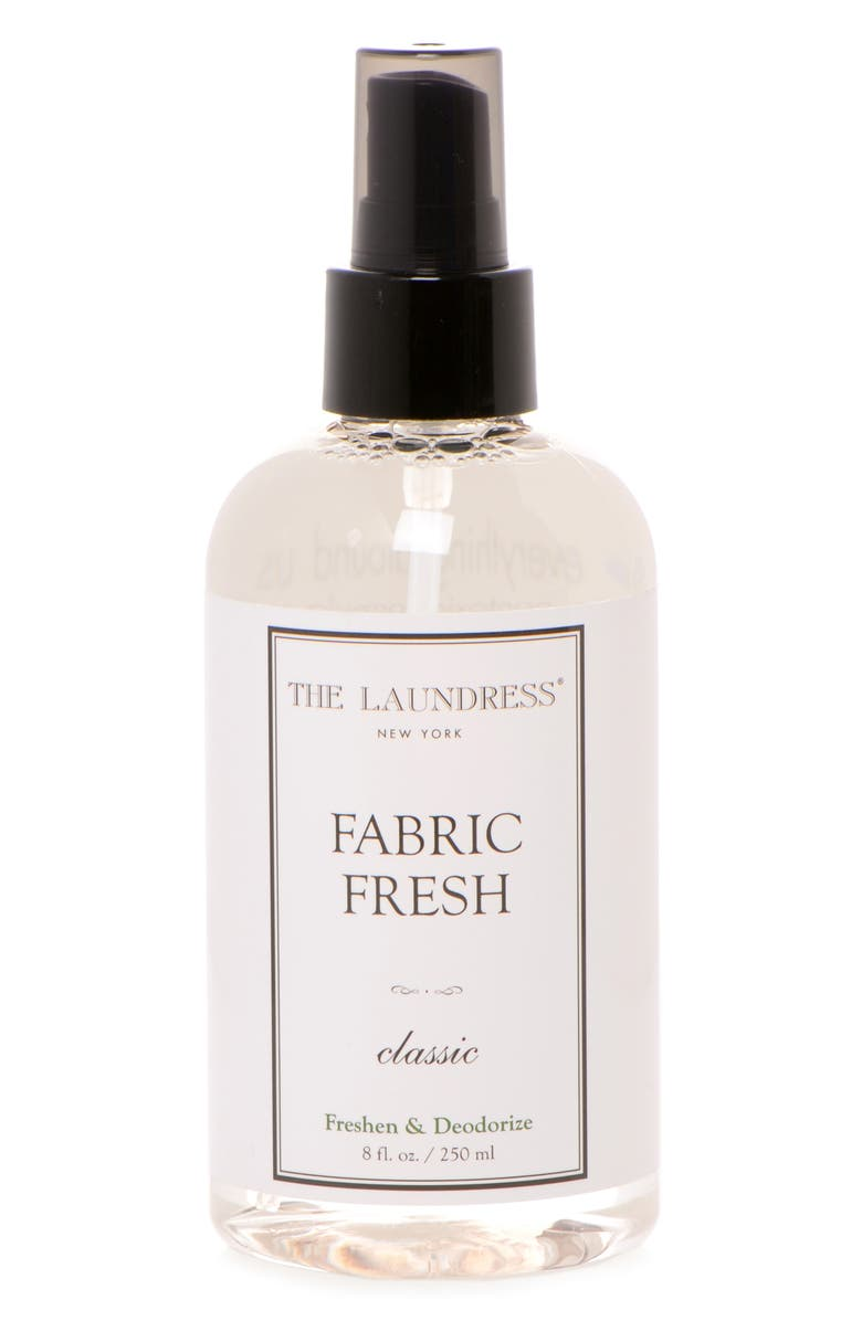 THE LAUNDRESS Classic Fabric Freshener, Main, color, CLEAR