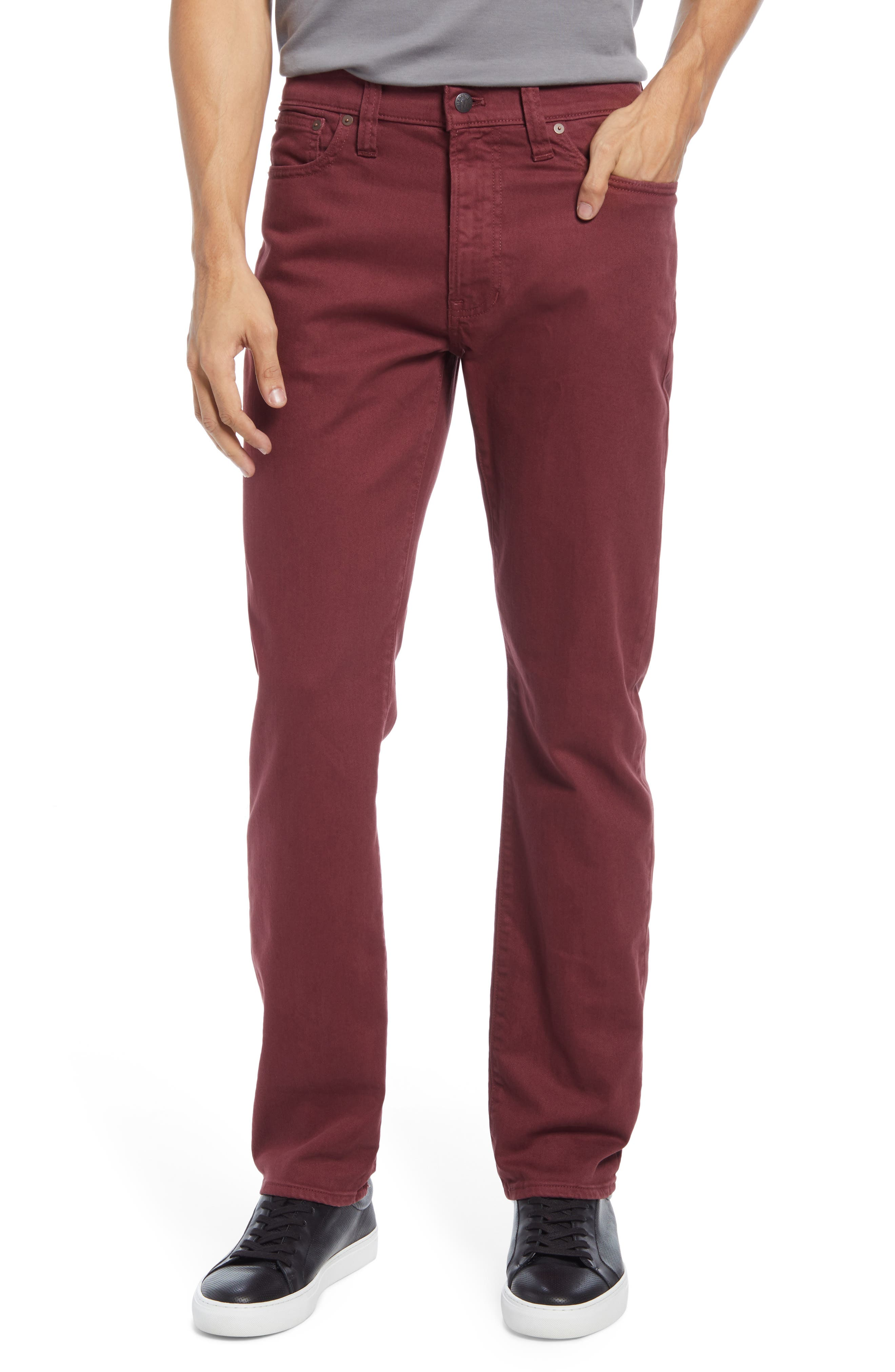 Garment Dyed Slim Fit Jeans