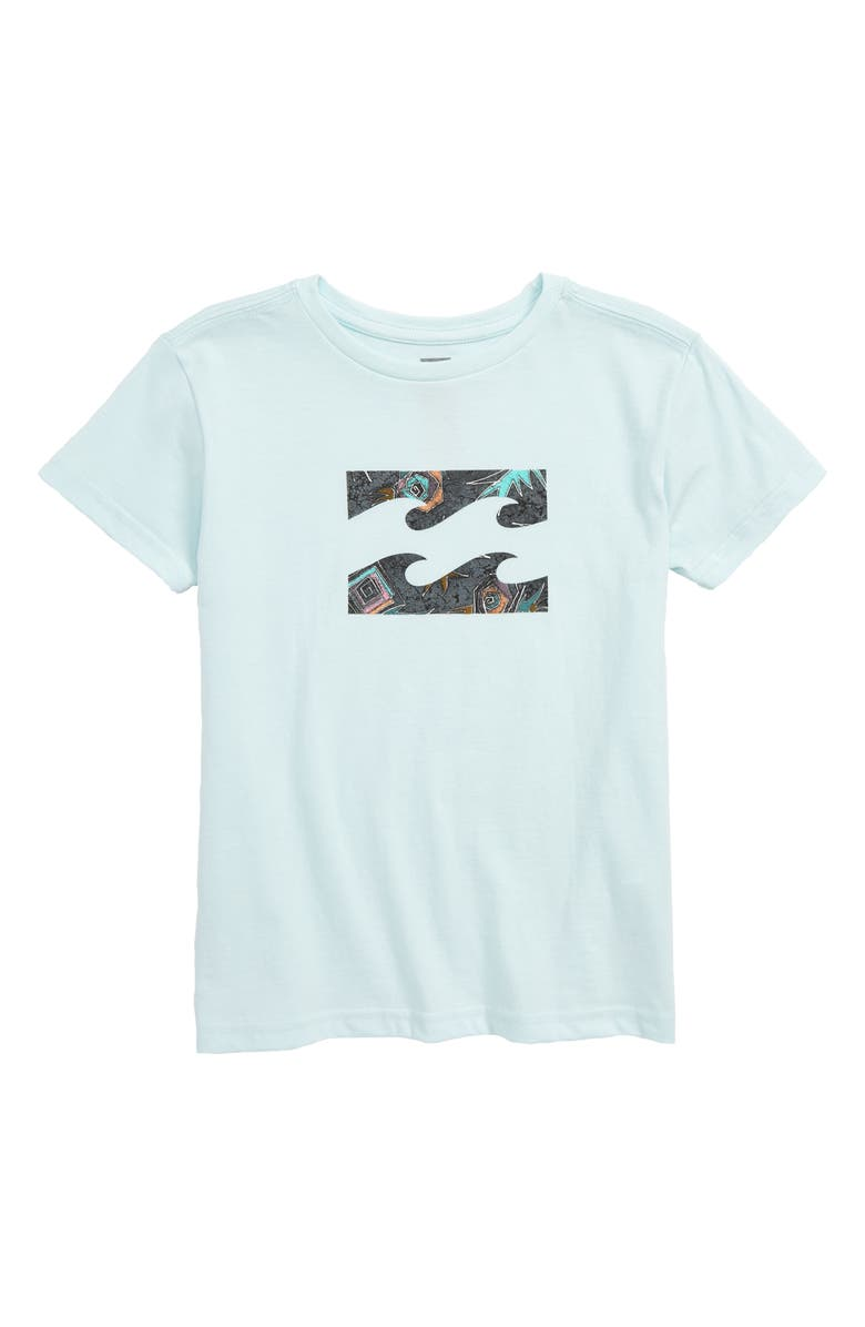 BILLABONG Team Wave Logo Graphic T-Shirt, Main, color, 458