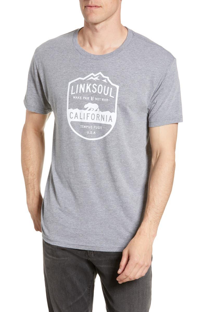 LINKSOUL Grapevine Graphic T-Shirt, Main, color, PREMIUM HEATHER