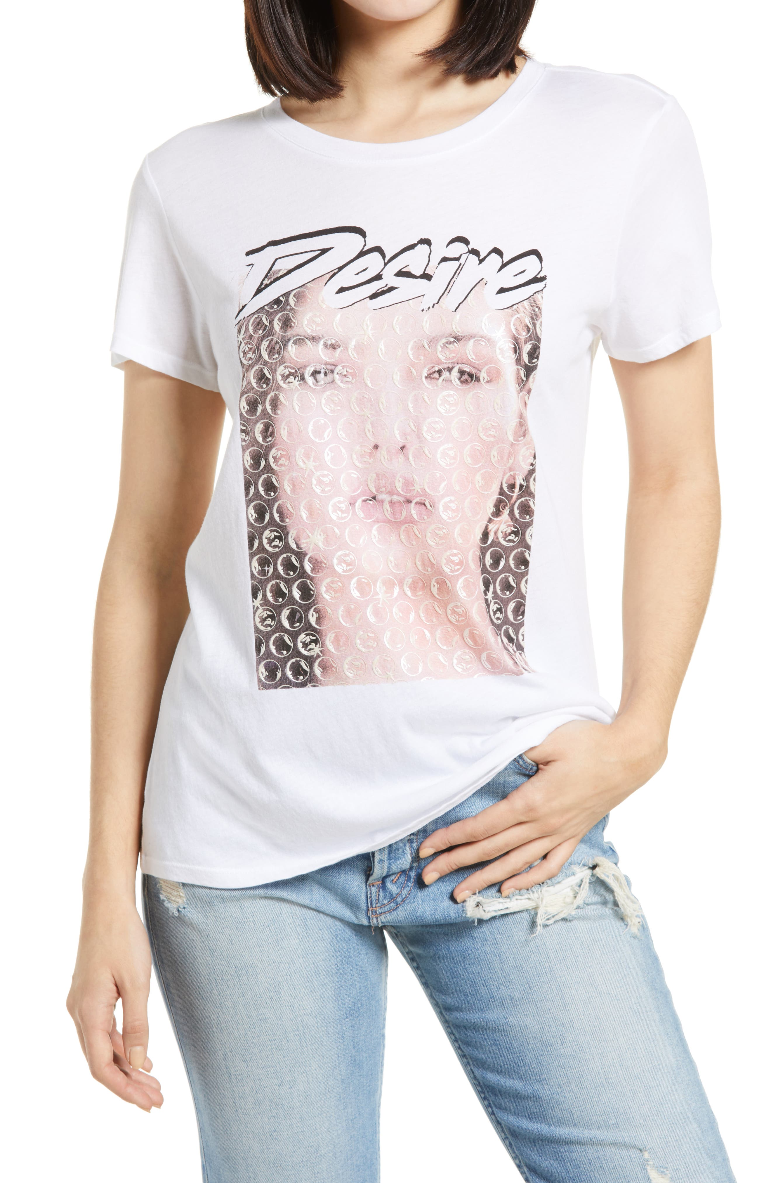 Desire Bubble Jersey Graphic Tee