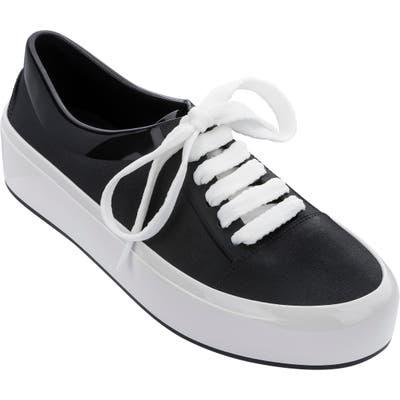 Melissa Street Platform Sneaker, Black
