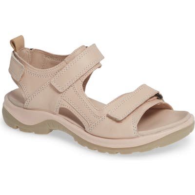 Ecco Premium Offroad Sandal, Pink