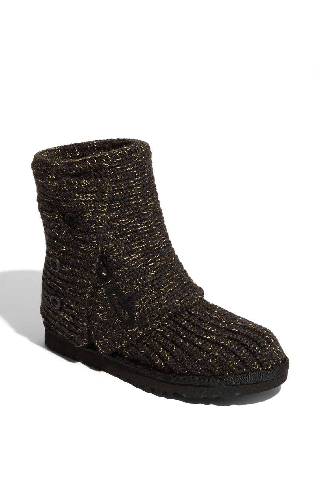 ,                             'Cardy' Classic Knit Boot,                             Main thumbnail 3, color,                             009
