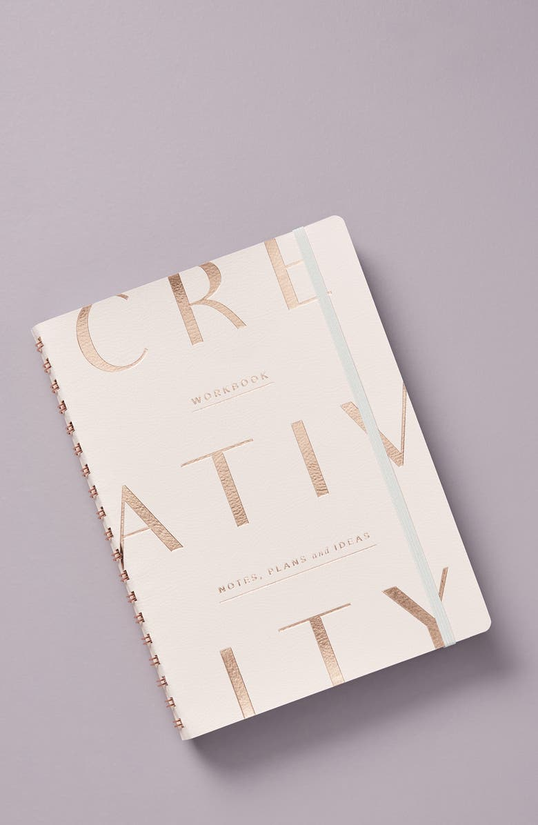 ANTHROPOLOGIE Creativity Journal, Main, color, PINK