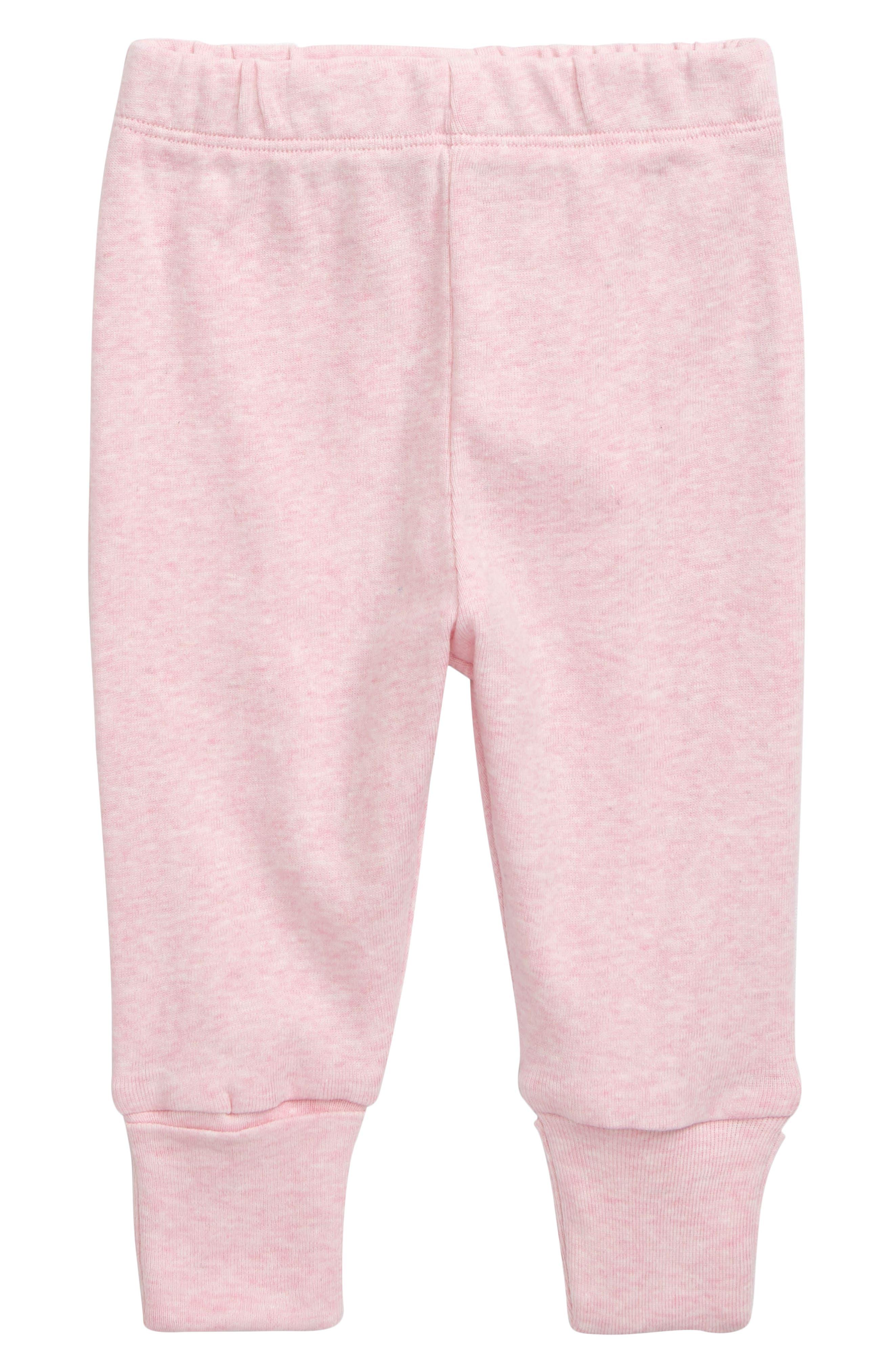 Infant Girls Monica  Andy Hello Baby Organic Cotton Pants